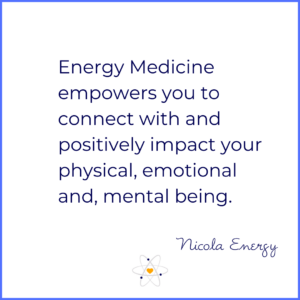 energy medicine empowers you to connect with and positively impact your physical, emotional and mental being.